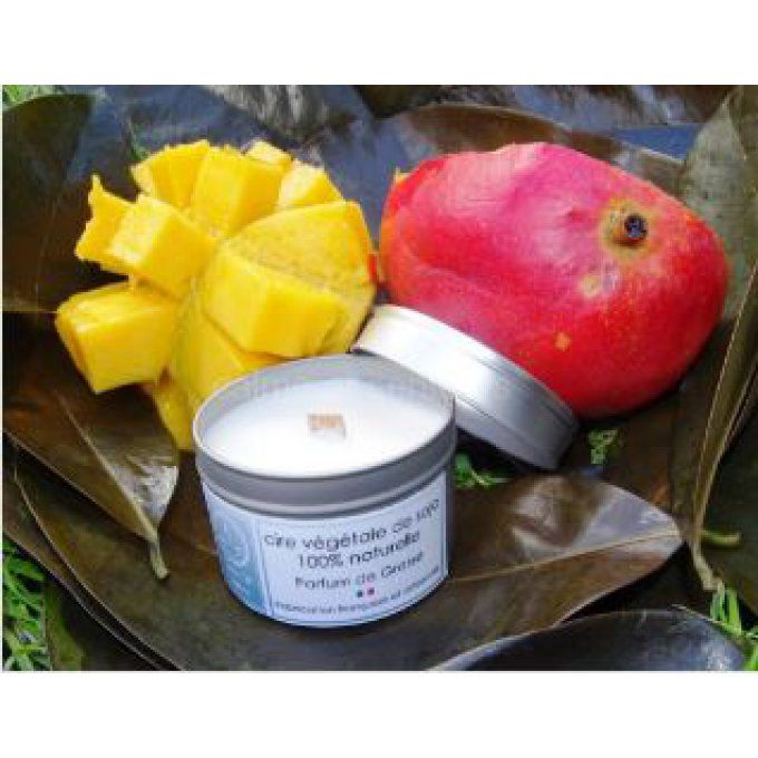 Bougie naturelle parfum Mangue